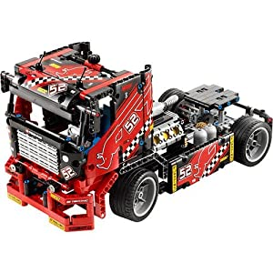 Lego 8041 Technic Race Truck - Limited Edition