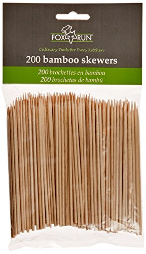 New Fox Run Bamboo Skewers, 4-Inch (200 Count)