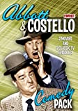 Cover art for  Abbott & Costello Comedy Pak