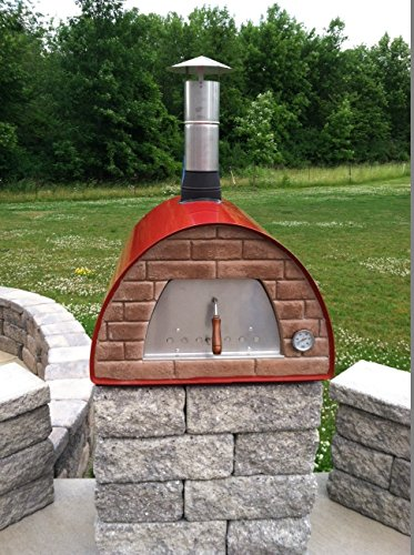 Wood-Fired Bread, Meat, Pizza Fish Outdoor Oven Real Wood Real Flavor Escape The Indoors TM
