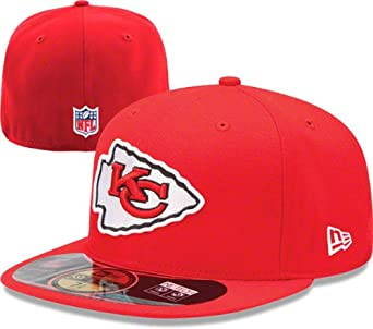 NFL Child Kansas City Chiefs On Field 5950 Red Game Cap By New Era by New Era