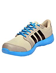 Adidas Men's Hellion Grey And Base Blue Running Shoes