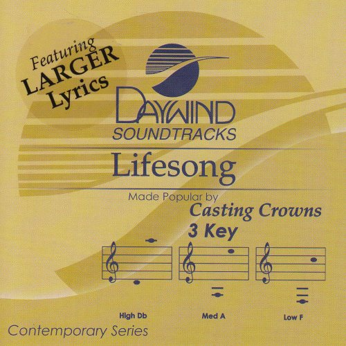 Lifesong [Accompaniment/Performance Track] (Casting Crowns Lifesong compare prices)