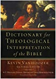 Title: Dictionary for Theological Interpretation of the B