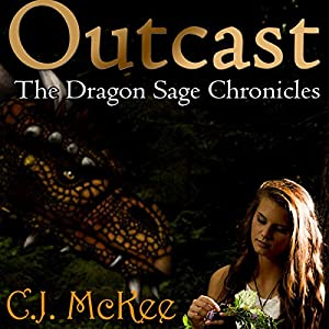 Outcast: The Dragon Sage Chronicles Audiobook