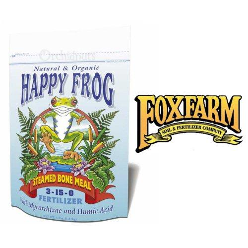 FoxFarm Happy Frog Steamed Bone Meal Fertilizer - 4 Pounds