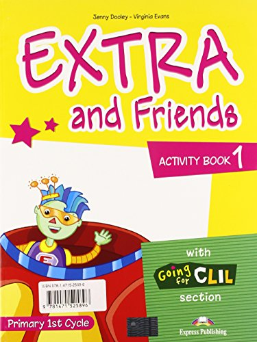 Extra & Friends 1 - Pupil's Pack