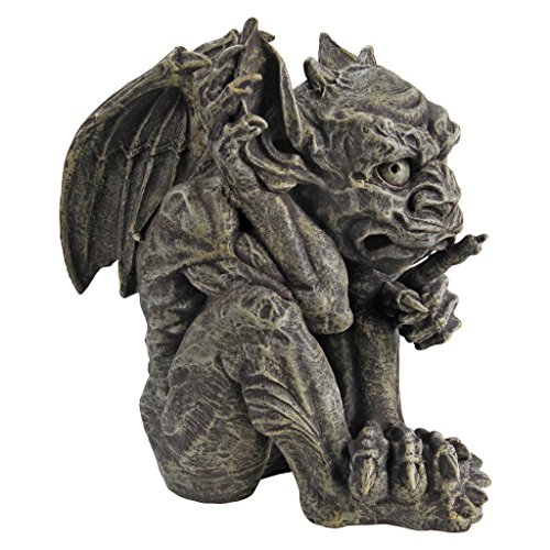 Design toscano whisper the gothic gargoyle statue home for Gargoyle decor