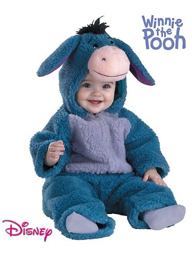 Deluxe Plush Eeyore Costume - Infant