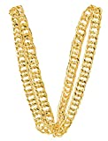 80s Big Links Gold Color Bling Neck Chain