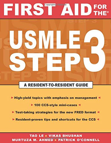 First Aid For The Usmle Step 3 (First Aid For Usmle 3)