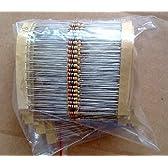 【ノーブランド品】R-STYLE 電子工作の基本パーツに 炭素皮膜抵抗(カーボン抵抗)セット (1/4W(0.25W) 許容差±5% 37種類セット)