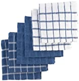 Ritz 6-Pack Terry Cotton Dish Cloths, Federal Blue