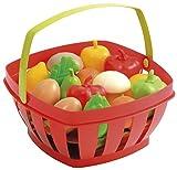 Ecoiffier - 966 - Jeu d'imitation - Panier Garni - Fruits et Légumes - Modèle aléatoire