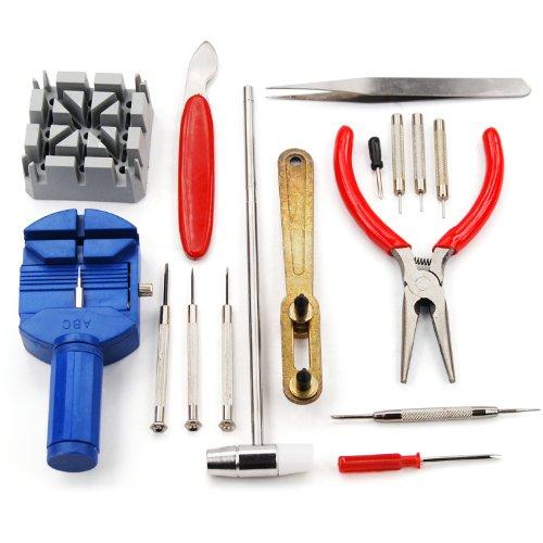 trixes-uhren-reparatur-set-werkzeugset-mit-armband-einstell-werkzeug-gehauseoffner-16-teilig