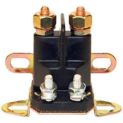 Universal starter solenoid; Craftsman Poulan 146154, 109081X, 109946, 192507; Many Other Brands. (Riding Mower Starter compare prices)