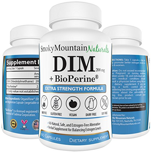 DIM (Diindolylmethane) / Extra Strength- 200mg with BioPerine (2 Month Supply). Promotes Beneficial Estrogen Metabolism in Both Men and Women. BioPerine Allows the Body to Better Absorb the DIM. Commonly used for Estrogen-Dominance. Vegan, Soy-Free, Dairy-Free, GMO-Free, Mico-Encapsulated, and Made with Veggie Capsules. The Superior, Most Natural, Safest, and Most Complete DIM on Amazon! No Hassle, Money-Back Guarantee. A Must Have for Adults Over 40! (Enhanced Energy Supreme compare prices)