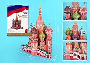 St. Basil's Cathedral 3D Puzzl