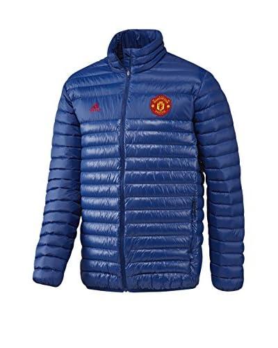 adidas Chaqueta MUFC LT Down JK Azul / Rojo