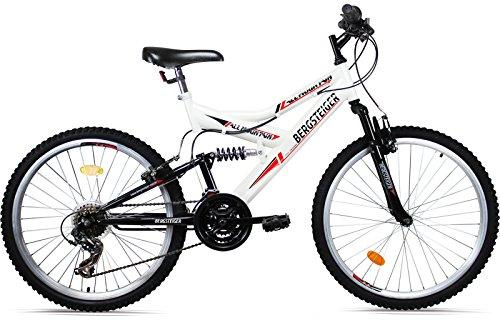 Bergsteiger-Mountainbike-26-Zoll-All-Mountain-MTB-18-Gang-Shimano-vollgefedert-Stollenbereifung