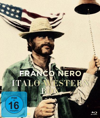 Franco Nero Italo-Western Collection - 3-Disc Box Set ( Il mercenario / L'uomo, l'orgoglio, la vendetta / Cipolla Colt ) ( A Professional Gun / Prid [ NON-USA FORMAT, Blu-Ray, Reg.B Import - Germany ]