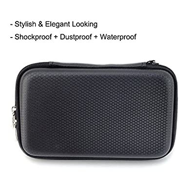 HESPLUS Waterproof Anti-Shock Hard Carrying Case for Seagate Backup Plus Slim 2TB 1TB / Western Digital WD My...
