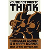 "1art1 40721 Futurama - Don't Think Poster (91 x 61 cm)von ""1art1"""
