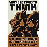 """1art1 40721 Futurama - Don't Think Poster (91 x 61 cm)von """"1art1"""""""