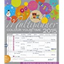 Multiplaner - Colour your time 2015: Familientimer mit...