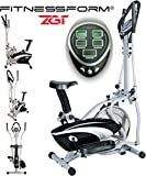 Fitnessform® FITNESS PRO ZGT 2-IN-1 ELLIPTICAL CROSS TRAINER & EXERCISE BIKE Delivery to Mainland UK Only