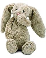 "Jellycat Bashful Beige Bunny, Medium - 12"""