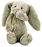 Jellycat® Bashful Beige Bunny, Medium - 12""