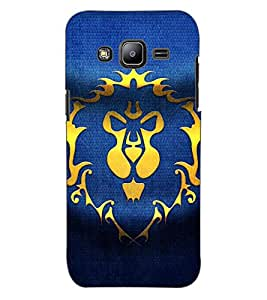 ColourCraft Abstract image Design Back Case Cover for SAMSUNG GALAXY J2 DUOS