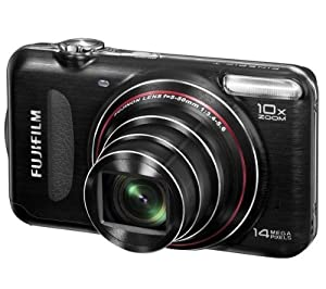 FUJIFILM FinePix T300 - black Plus 8 GB SDHC Memory Card