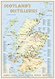 Scotland's Distilleries - Tasting Map 34x24cm: The scottish Whiskylandscape in Overview