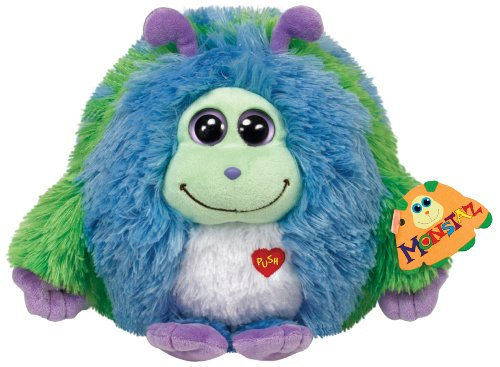 Ty Monstaz Benny Plush Toy, Blue/Green - 1
