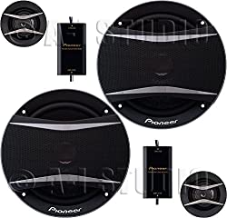 Pioneer TS-A1606C A-Series 6.5 350W Component Speakers