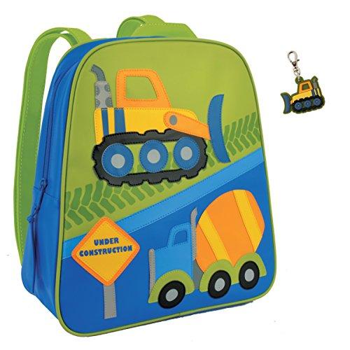 Stephen Joseph Construction Backpack With Bull Dozer Zipper Pull - Boys Backpacks front-897672