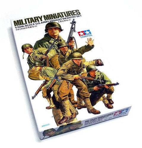 Tamiya 1:35 U.S. Army Assault Infantry