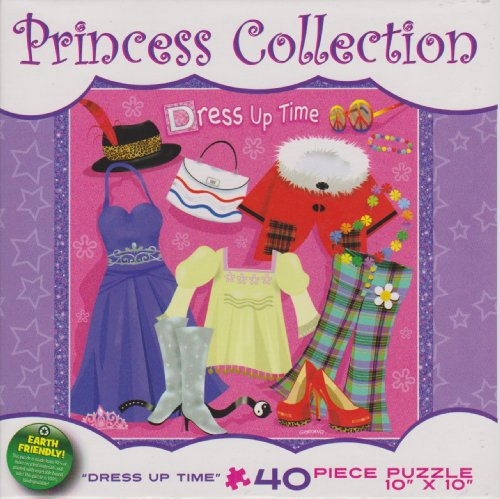 "Princess Collection 40 Piece Puzzle, ""Dress Up Time"""