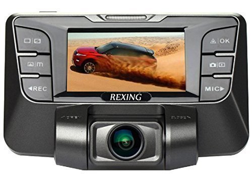 REXING S300 Dash Cam Pro 1080P 165° Wide Angle Super Night Vision Mode Dashboard Camera for Cars Stealth Design Dash Camera