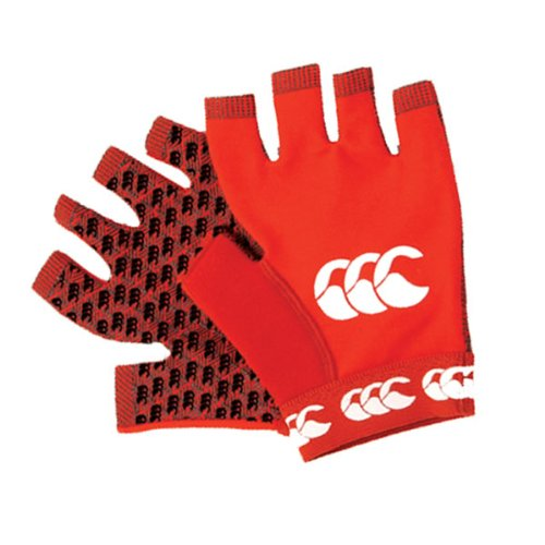 Canterbury Pro Grip Gloves (Red Small)