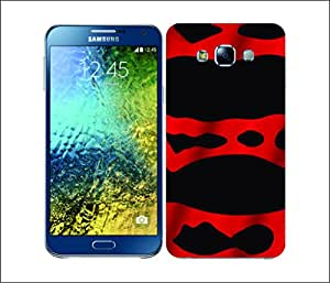 Galaxy Printed 2621 Poision Dart Frog Redban Hard Cover for Samsung A7
