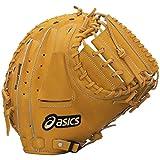 asics(アシックス) 野球 軟式用キャッチャーミット ゴールドステージ BGR5LD オレンジ/ホワイト LH