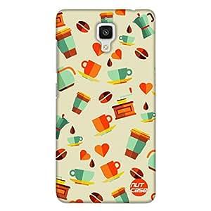 Designer Xiaomi MI 4 Case Cover Nutcase Cuppa Coffee