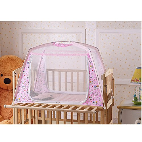LOHOME(TM) Zippered Baby Nursery Bed Crib Folding Mosquito Net  sc 1 st  We Buy Cheaper & Best Baby Proof Crib Tents For Infant Safety u2013 Tots in Mind Cozy ...