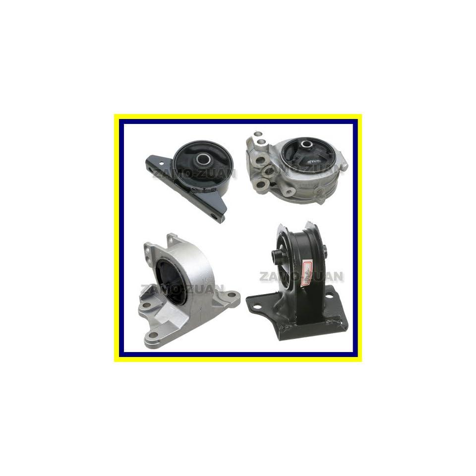 A4602 A4612 A4621 A6699 Fits 99 05 Mitsubishi Engine Motor Mount 4PCS Eclipse Galant Dodge Stratus 2.4L L4 99 00 01 02 03 04 05