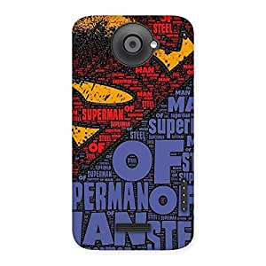 Premier Day Typo Back Case Cover for HTC One X