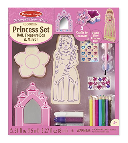Melissa & Doug DYO Princess Set