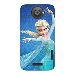Premier Angel Princess Multicolor Back Case Cover for HTC One X